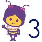 Infantil 3 años - abejas