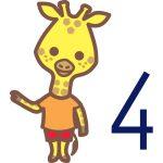 Infantil 4 años - jirafas